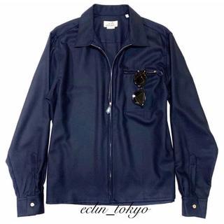 エルメス(Hermes)のHERMES エルメス 【セリエボタン】 シャツ ジャケット E2517(その他)