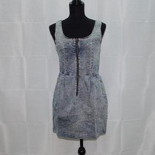 heather - 美品◆レトロ風◆【Heather/ヘザー】デニムジャンパースカート