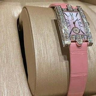 ハリーウィンストン(HARRY WINSTON)のハリーウィンストン ピンク(腕時計)