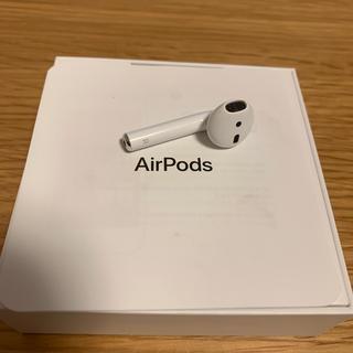 Apple - 純正品(中古)AirPods イヤホン右耳のみ (第2世代) AirPods2