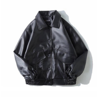 HARE - ハレ レザージャケット ブラック