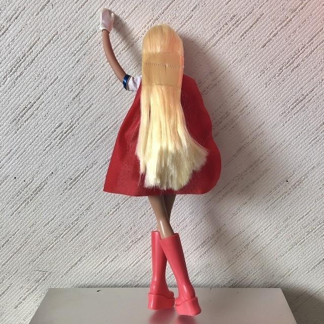 Barbie(バービー)のバービー人形☆スーパーマン キッズ/ベビー/マタニティのおもちゃ(ぬいぐるみ/人形)の商品写真