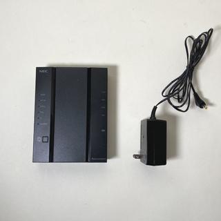 【使用1ヶ月】NEC Atern WG2600HP3◆中継機にもなる無線ルーター