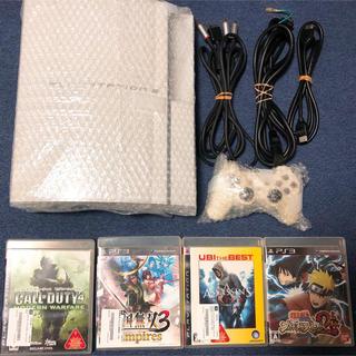 プレイステーション3(PlayStation3)のPS3 本体 ソフト カセット ゲーム PlayStation3 CECHH00(家庭用ゲーム機本体)