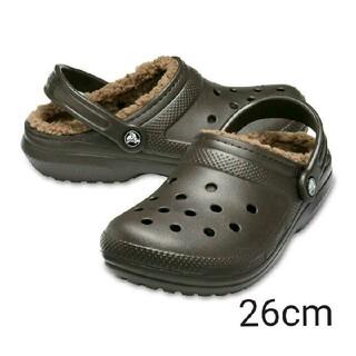 クロックス(crocs)の26cm クロックス 新品 ブラウン(サンダル)