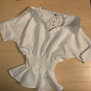 グレイル(GRL)のグレイル 新品未使用タグ付き 2枚セット(シャツ/ブラウス(半袖/袖なし))