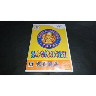 ウィー(Wii)のWii スーパーマリオコレクション / 説明書無し(家庭用ゲームソフト)
