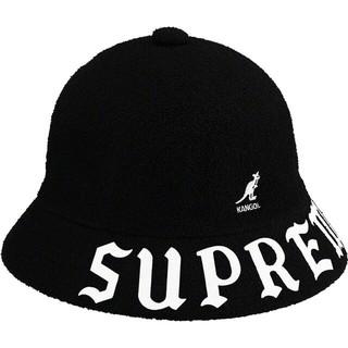Supreme - Supreme Kangol Bermuda Casual Hat Black