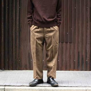 イギリス軍 ウール ドレスパンツ トラウザーズ ブラウン デッドストック