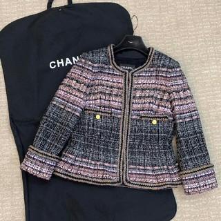 CHANEL - CHANEL ツイード テーラードジャケット 36
