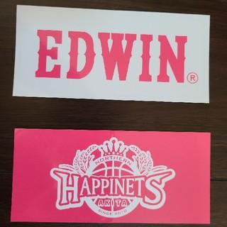 エドウィン(EDWIN)の秋田ノーザンハピネッツ EDWIN エドウィン ステッカー(バスケットボール)