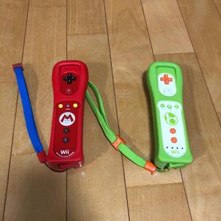 ウィー(Wii)のwii リモコンプラス マリオ ヨッシー(家庭用ゲーム機本体)