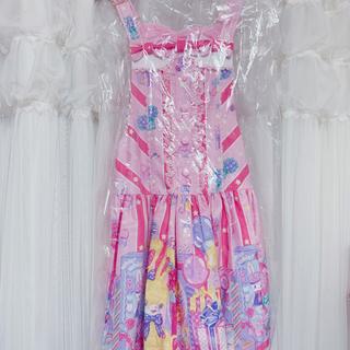 Angelic Pretty - Angelic Pretty Toy Doll Box ピンクサロペット
