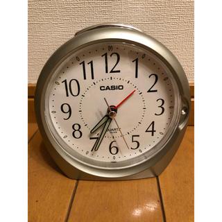カシオ(CASIO)の目覚まし時計 ジャンク品(置時計)