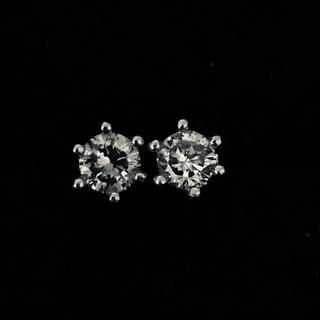 プラチナ ダイヤモンド0.5Ct ピアス