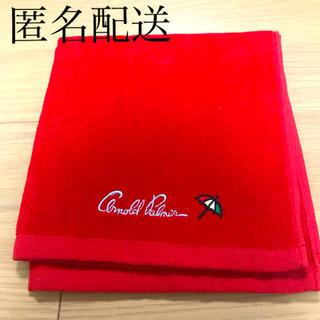 アーノルドパーマー(Arnold Palmer)のアーノルドパーマー タオルハンカチ 赤色(ハンカチ)