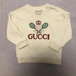 グッチ(Gucci)のGUCCI  キッズ スウェット 美品(Tシャツ/カットソー)