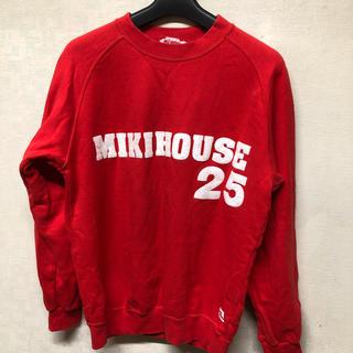 ミキハウス(mikihouse)のMIKIHOUSE ミキハウススエットトレーナー M 格安値下げ❣️(スウェット)