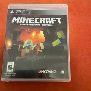 プレイステーション3(PlayStation3)の北米版 日本語もできます マインクラフト マイクラ PS3ソフト  カセット(家庭用ゲームソフト)