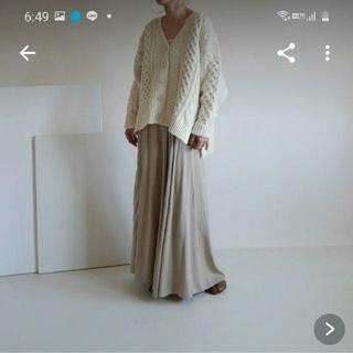 ドゥーズィエムクラス(DEUXIEME CLASSE)のargue フレアスカート(ロングスカート)