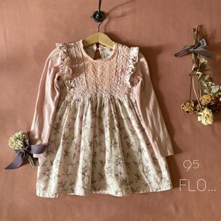 フレンチ上品な韓国子供服 FLO…妖精の女の子 ワンピース*̩̩̥୨୧˖