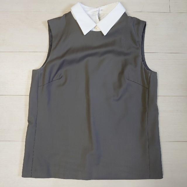 theory(セオリー)の定価28080円 上質セオリー 襟付きブラウス S レディースのトップス(シャツ/ブラウス(半袖/袖なし))の商品写真