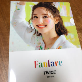 Waste(twice) - TWICE Fanfare クリアファイル ナヨン