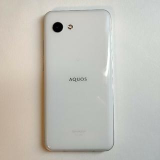 SHARP - AQUOS R2 Compact SH-M09 ホワイト SIMフリー ジャンク