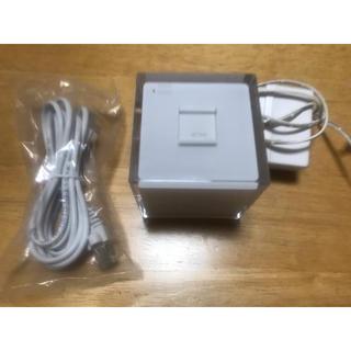 エーユー(au)のWi-Fiルーター 無線LANルーター  au HOME SPOT CUBE(PC周辺機器)