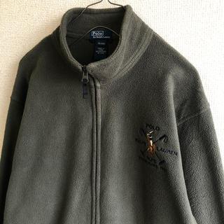 ポロラルフローレン(POLO RALPH LAUREN)のポロバイラルフローレン フリース ジャケット 刺繍(ブルゾン)