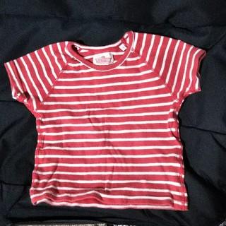 ハリウッドランチマーケット(HOLLYWOOD RANCH MARKET)のきぃりぃ様専用 赤白ボーダーT(Tシャツ/カットソー)