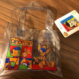 Disney - ピノキオ クリアバッグ
