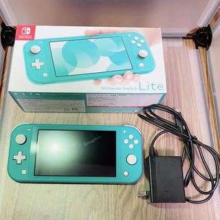 ニンテンドースイッチ(Nintendo Switch)の【レシート有】Nintendo Switch Lite ターコイズ(家庭用ゲーム機本体)
