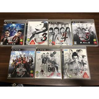 プレイステーション3(PlayStation3)の龍が如く 7枚セット(家庭用ゲームソフト)