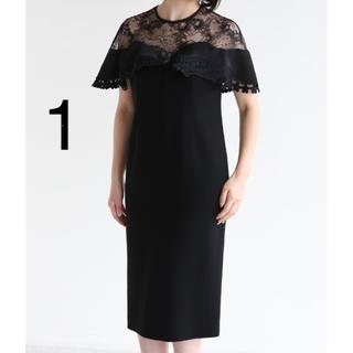 mame - mame kurogouchi リバーレース クラシカル ドレス ワンピース