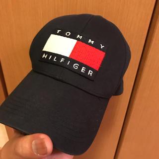 トミーヒルフィガー(TOMMY HILFIGER)の激レア!TOMMY HILFIGER モードスト系 ボックスロゴ キャップ(キャップ)