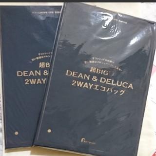 新品 2個セット ゼクシィ 11月号 DEAN&DELUCA 2WAYエコバッグ(エコバッグ)