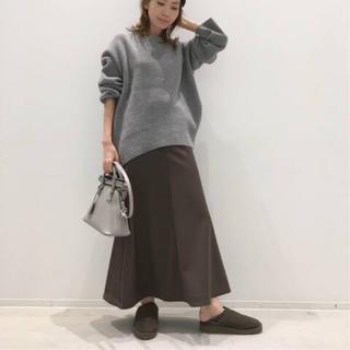 アパルトモンドゥーズィエムクラス(L'Appartement DEUXIEME CLASSE)のアパルトモン Punch Flare スカート カーキ(ロングスカート)