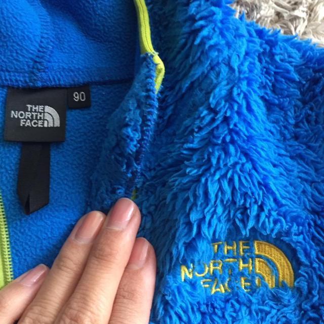 THE NORTH FACE(ザノースフェイス)のザノースフェイス フリースパーカー キッズ/ベビー/マタニティのキッズ服男の子用(90cm~)(ジャケット/上着)の商品写真
