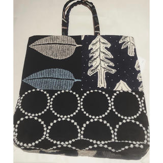 mina perhonen - 新品タグ付き ミナペルホネン トーストバッグ ピースバッグ トートバッグ 黒