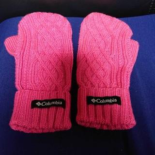 コロンビア(Columbia)のコロンビア Columbia 手袋 ピンク(手袋)