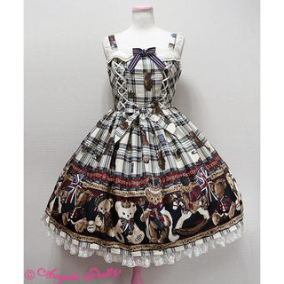 Angelic Pretty - British Bearジャンパースカート