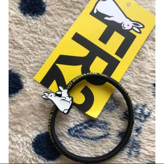 アルバローザ(ALBA ROSA)のFR2 エフアールツーヘアゴム★新品  color 黒(ヘアゴム/シュシュ)