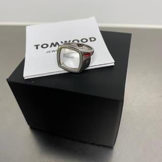 エディション(Edition)のTOMWOOD トムウッド クッション オープン リング 美品 50(リング(指輪))
