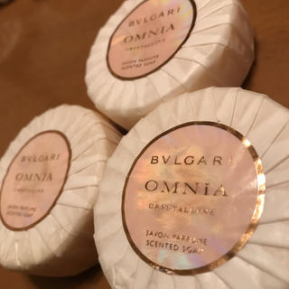 BVLGARI - ブルガリ オムニア クリスタリン ソープ 3個