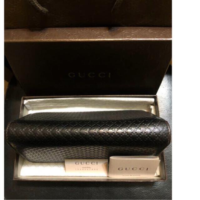 Gucci(グッチ)のセール価格✨GUCCI長財布レザー✨ブラック メンズのファッション小物(長財布)の商品写真