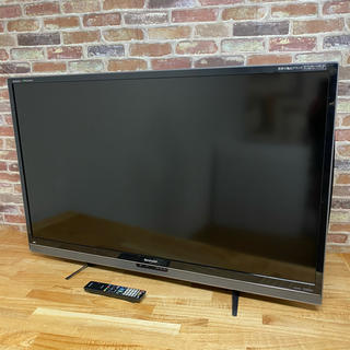 アクオス(AQUOS)のシャープ 52型 クワトロン 3D 液晶テレビ LC-52L5 フルハイビジョン(テレビ)