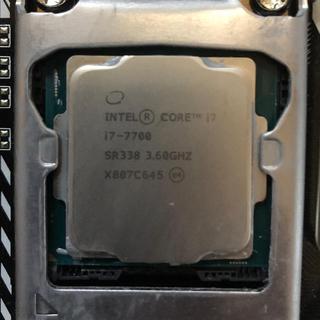 エイスース(ASUS)のCPU core i7 7700 PRIME H270-PRO セット(PCパーツ)
