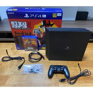 プレイステーション4(PlayStation4)のPlayStation 4 Pro レッド・デッド・リデンプション2 パック(家庭用ゲーム機本体)