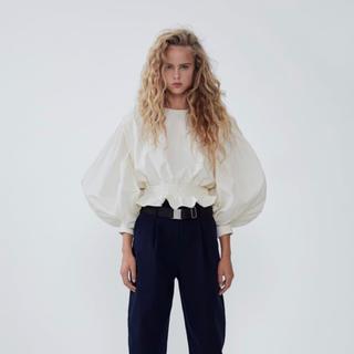 ZARA - ◯超美品◯ZARA ザラ コントラストスウェットシャツ S